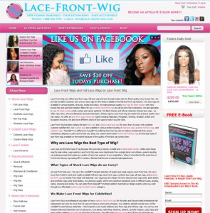 lace front wig.com website 295x300 New Website Design Launched at Lace Front Wig.com