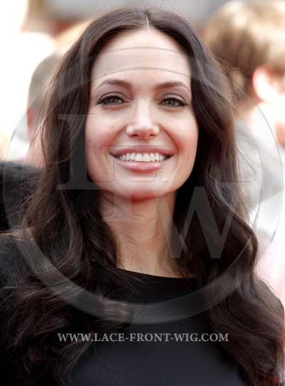 Angelina Jolie Celebrity Inspired Bodywave Lace Wig