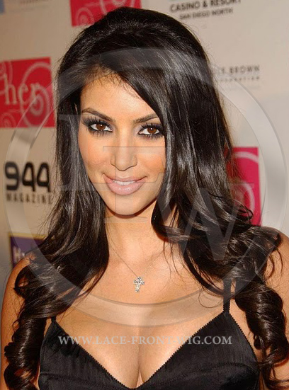 Kim Kardashian Celebrity Inspired Lace Wig
