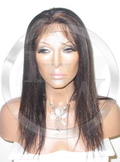 Yaki Full Lace Wig 16 Inch Color 1b 30