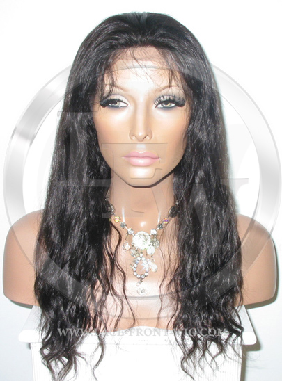 Bodywave Full Lace Front Wig Color 1b - 16 Inch