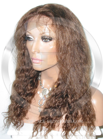 Deepwave Lace Front Wig Human Hair 18 Inch Color 4
