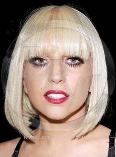 Lady Gaga Celebrity Inspired Blonde Lace Wig
