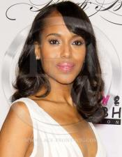 Kerry Washington Celebrity Inspired Bodywave with Loose Curls Lace Wig