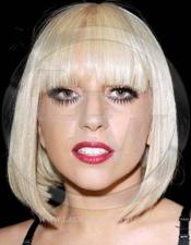 Lady Gaga Celebrity Inspired Blonde Lace Wig