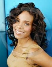 Sanaa Lathan Celebrity Inspired Curly Lace Wig
