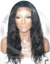 Bodywave Silk Top Lace Wig 16 Inch Color 1 - Jet Black