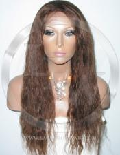 Bodywave Silk Top Lace Wig 18 Inch Color 4 - Medium Brown