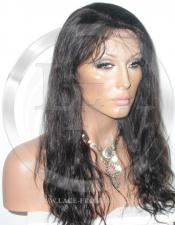 Bodywave Lace Front Wig Human Hair 14 Inch Color 1B