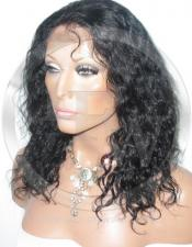 Deepwave Lace Front Wig Human Hair 12 Inch Color 1